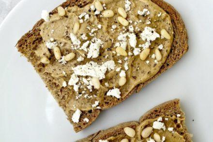 Tahini Feta Toast