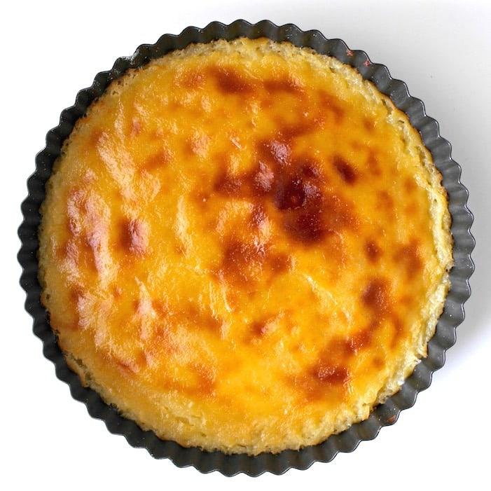 Greek Custard Pie - Galatopita