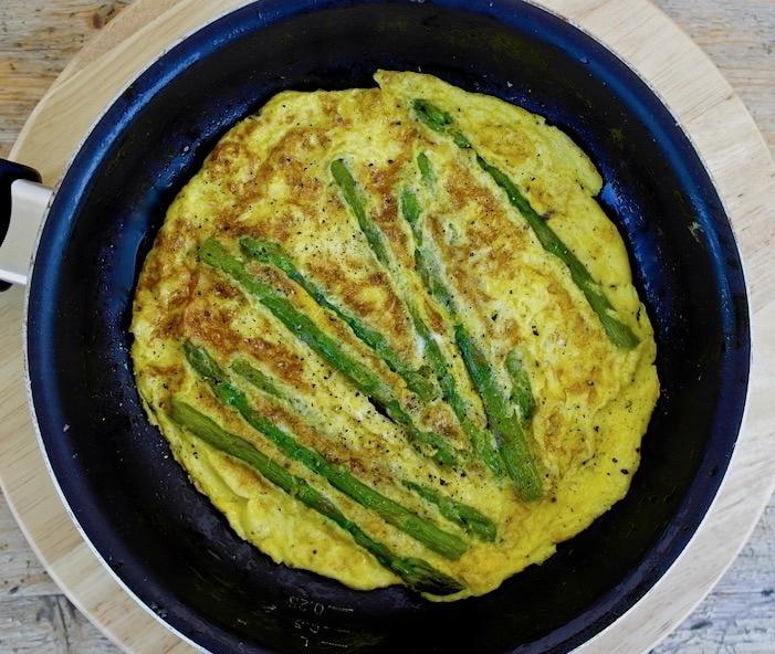 Greek Asparagus Omelet