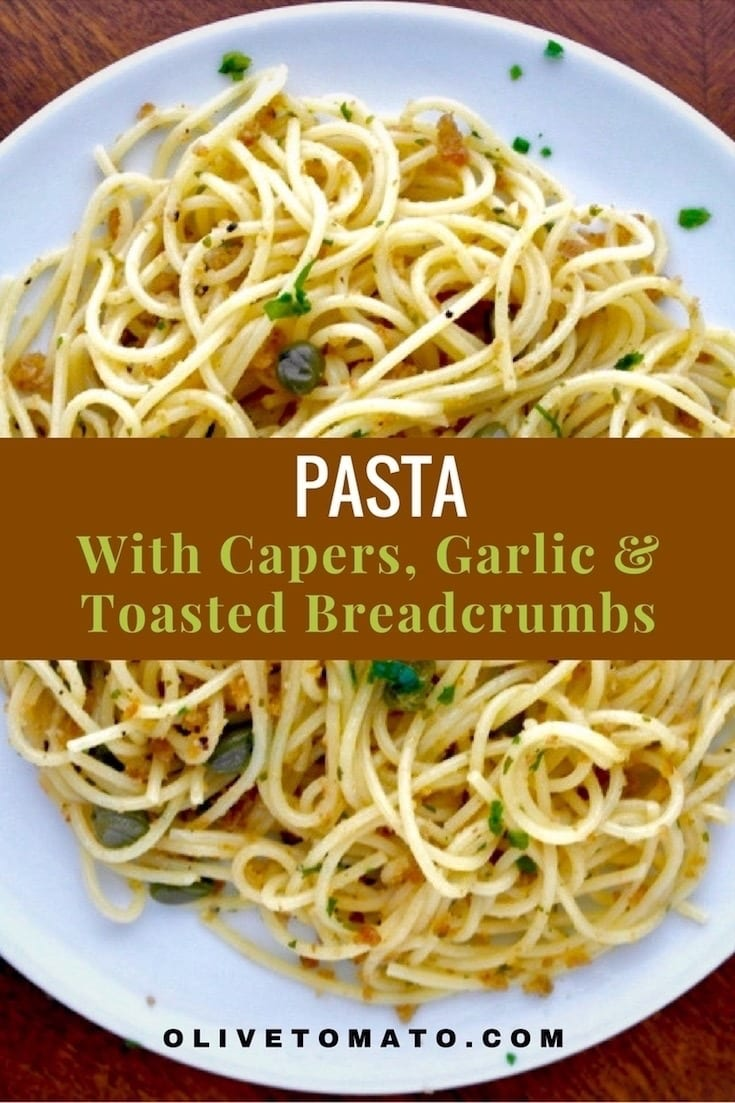 Pasta with capers