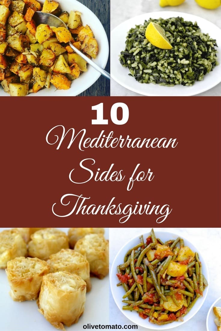 9 Healthy Mediterranean Side Dishes for Thanksgiving | Olive