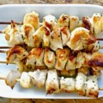 Authentic Chicken souvlaki