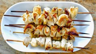 Quick and Easy Authentic Chicken Souvlaki in the Oven