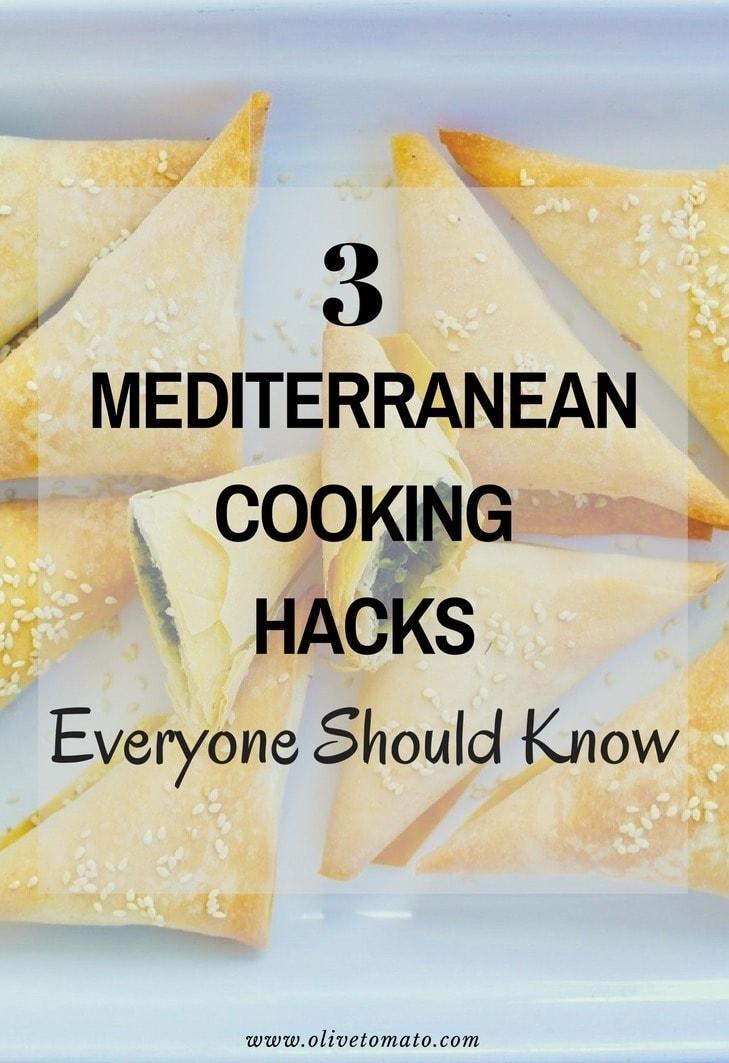 Mediterranean Cooking Tips