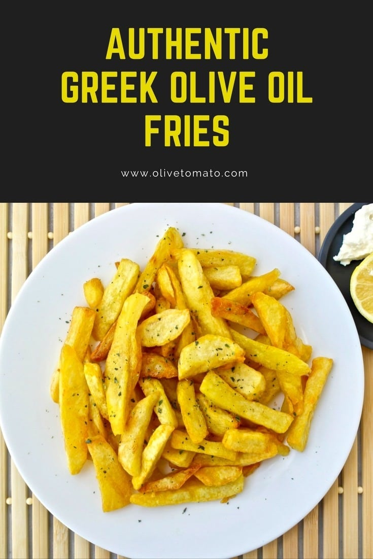 Greek olive oil fries