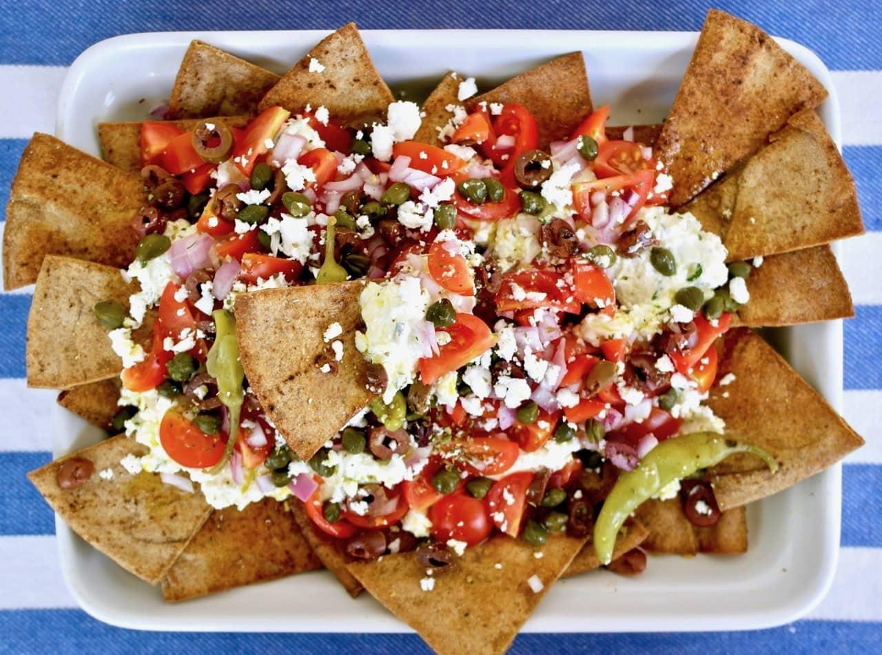 Greek nachos