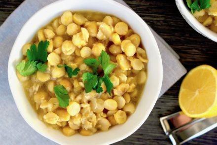 Greek Chickpea soup