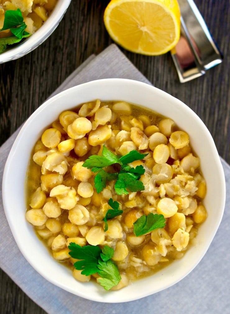 Greek chickpea recipe