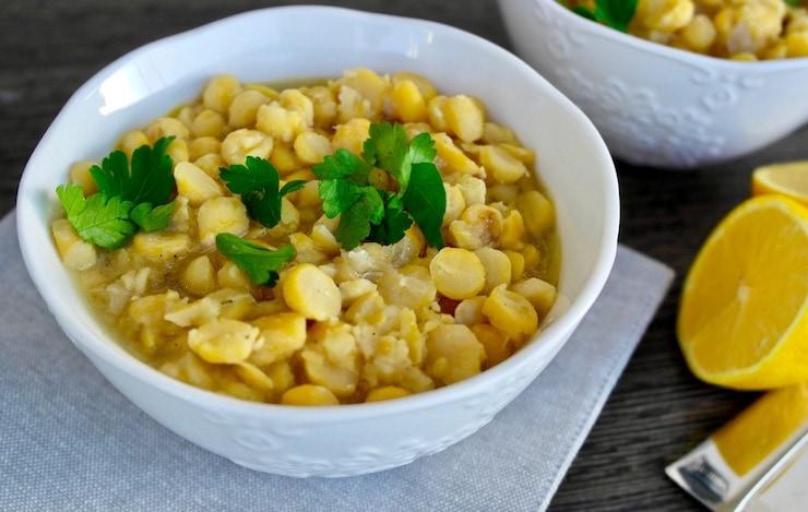 Greek chickpea stew-Easy to prepare Mediterranean Diet Recipes