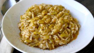 Greek Leeks and Rice – Prasorizo