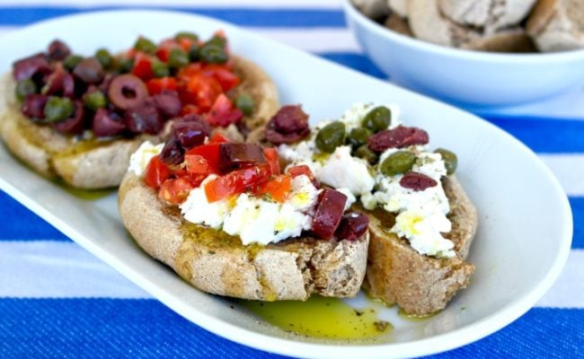 Cretan-Barley-rusks-bruschetta