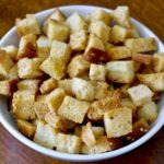 homemade healthy croutons