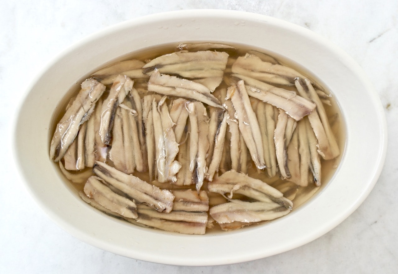 Marinated Anchovies