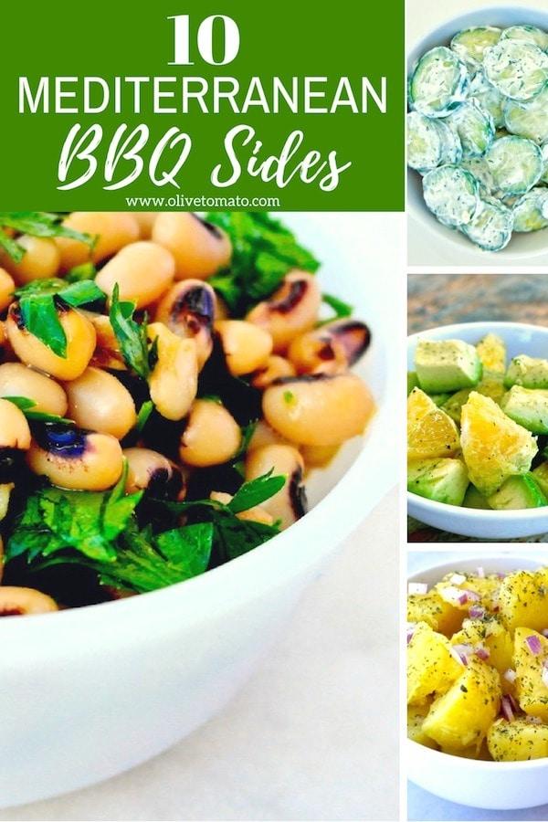 Mediterranean BBQ Sides and Salads