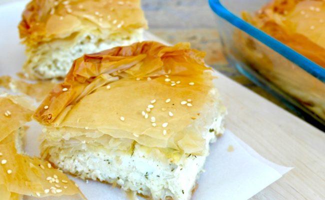 Traditional Tiropita – Greek Cheese Pie