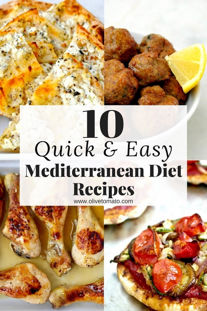 10 Quick And Easy Mediterranean Recipes