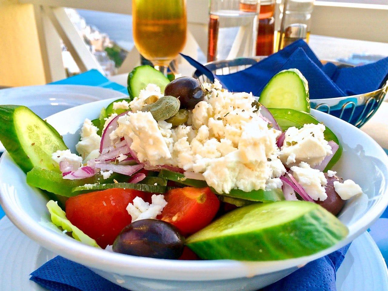 Greek-Mediterranean Diet has the Optimal Amount of