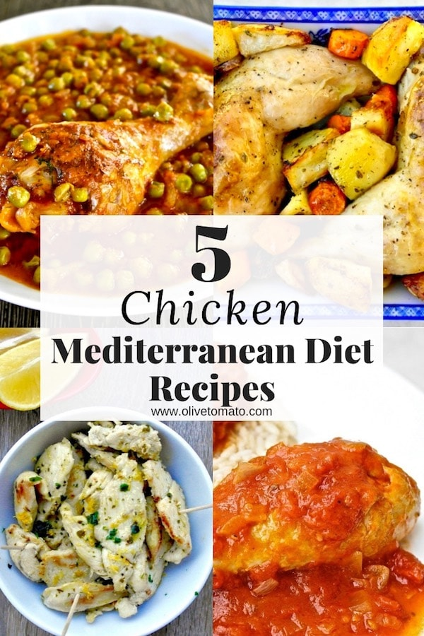 5 mediterranean chicken recipes