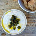 Greek Lemon Caper Dip