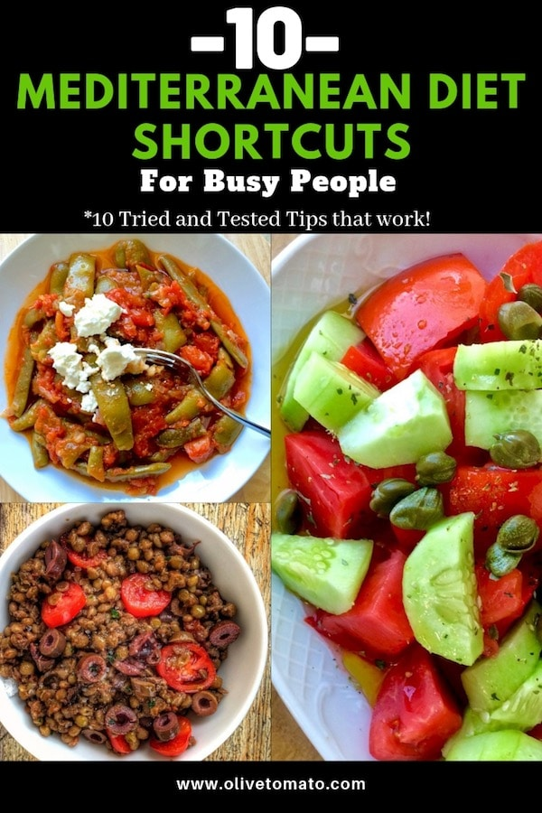 10 Mediterranean Diet Shortcuts for Busy People | Olive Tomato