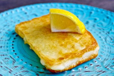 Cheese Saganaki