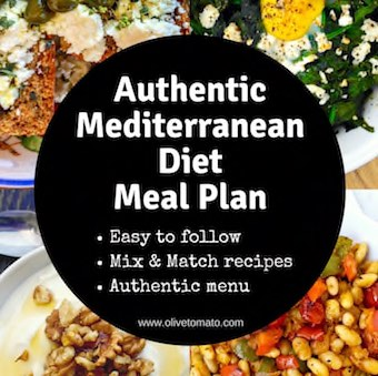 Mediterranean Menu Plan