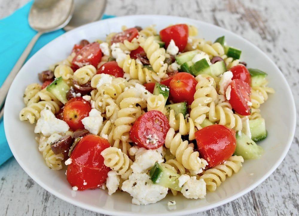 Classic Greek Pasta Salad