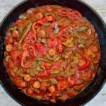 Sausage and Pepper skillet