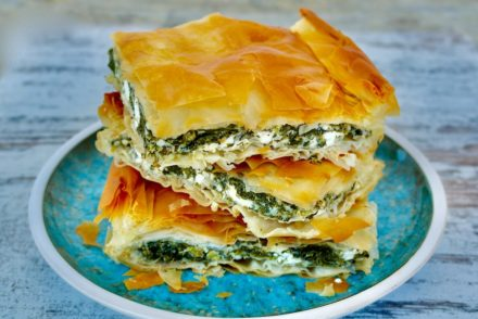 Greek Spinach Pie Spanakopita