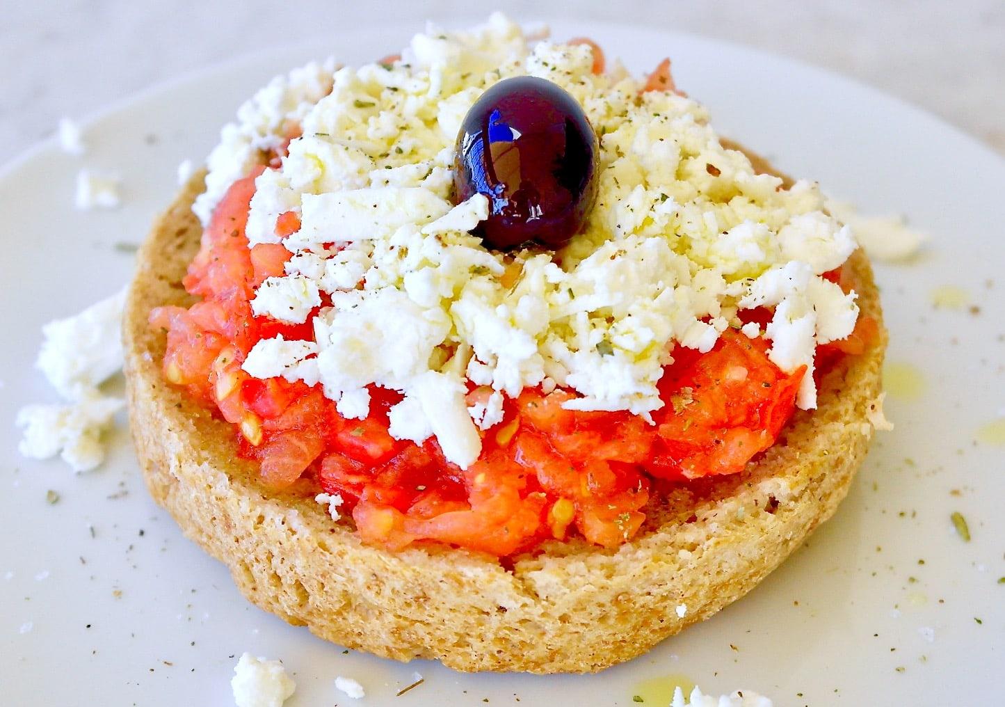 Cretan Salad Dakos