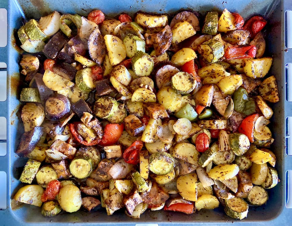 Greek Grilled Vegetables Briami