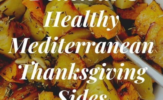 Thanksgiving Mediterranean Side Dishes
