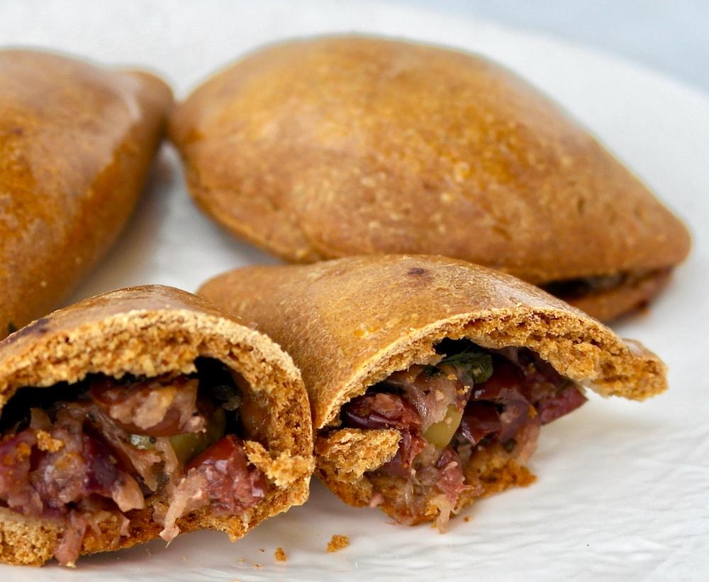 Mini Olive Pies Eliopitakia