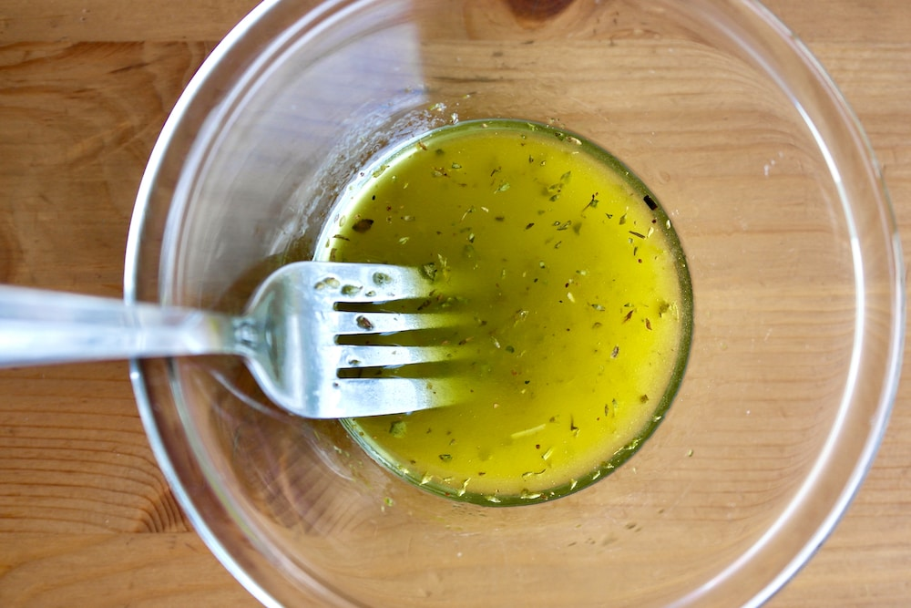 Ladolemono, Greek dressing with olive oil and lemon