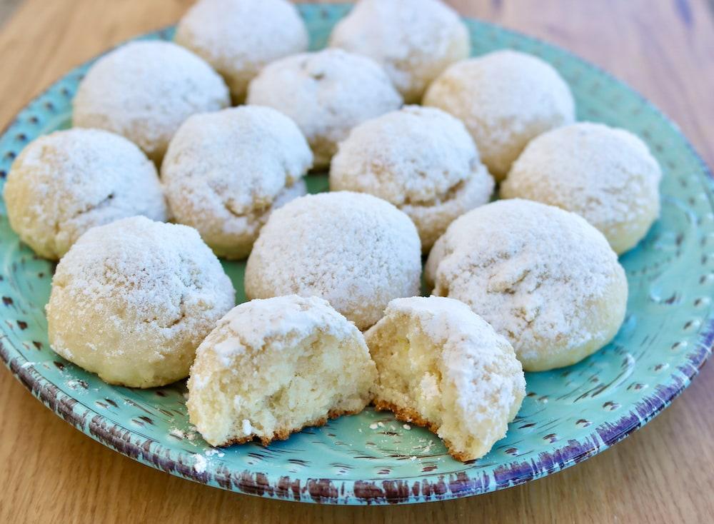 italian lemon and ricotta cookies