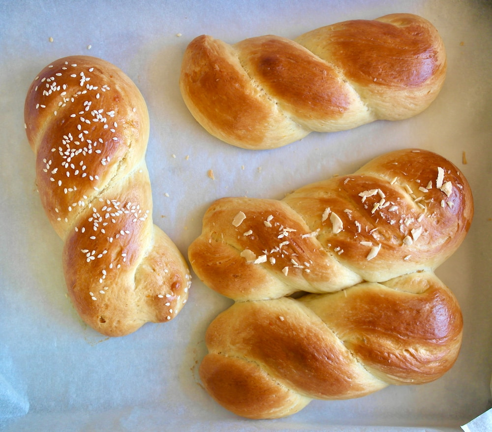Tsoureki Greek Sweet Easter Bread
