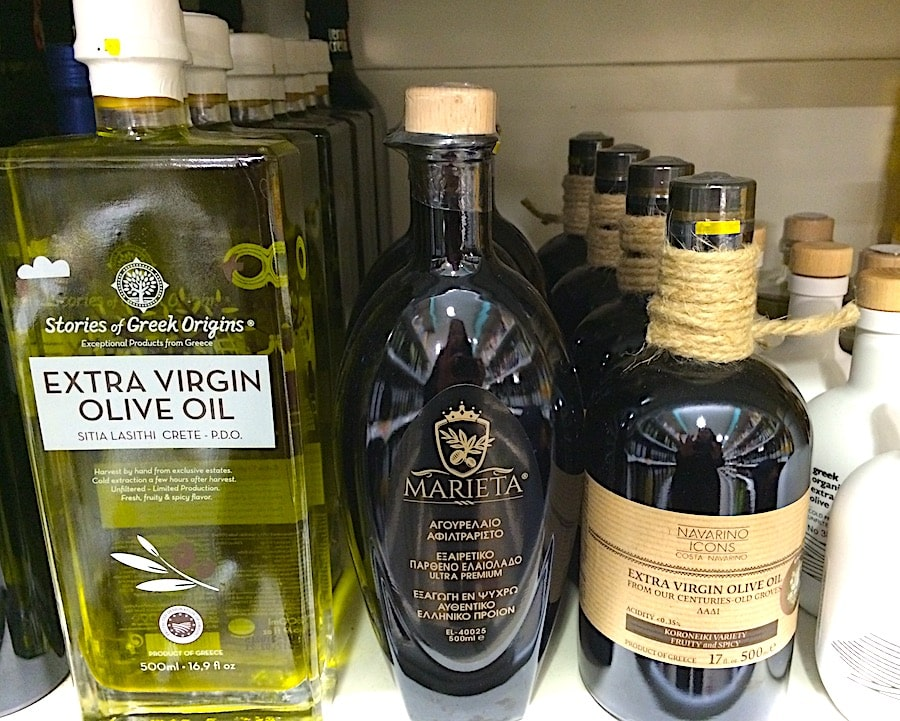 aceite de oliva griego
