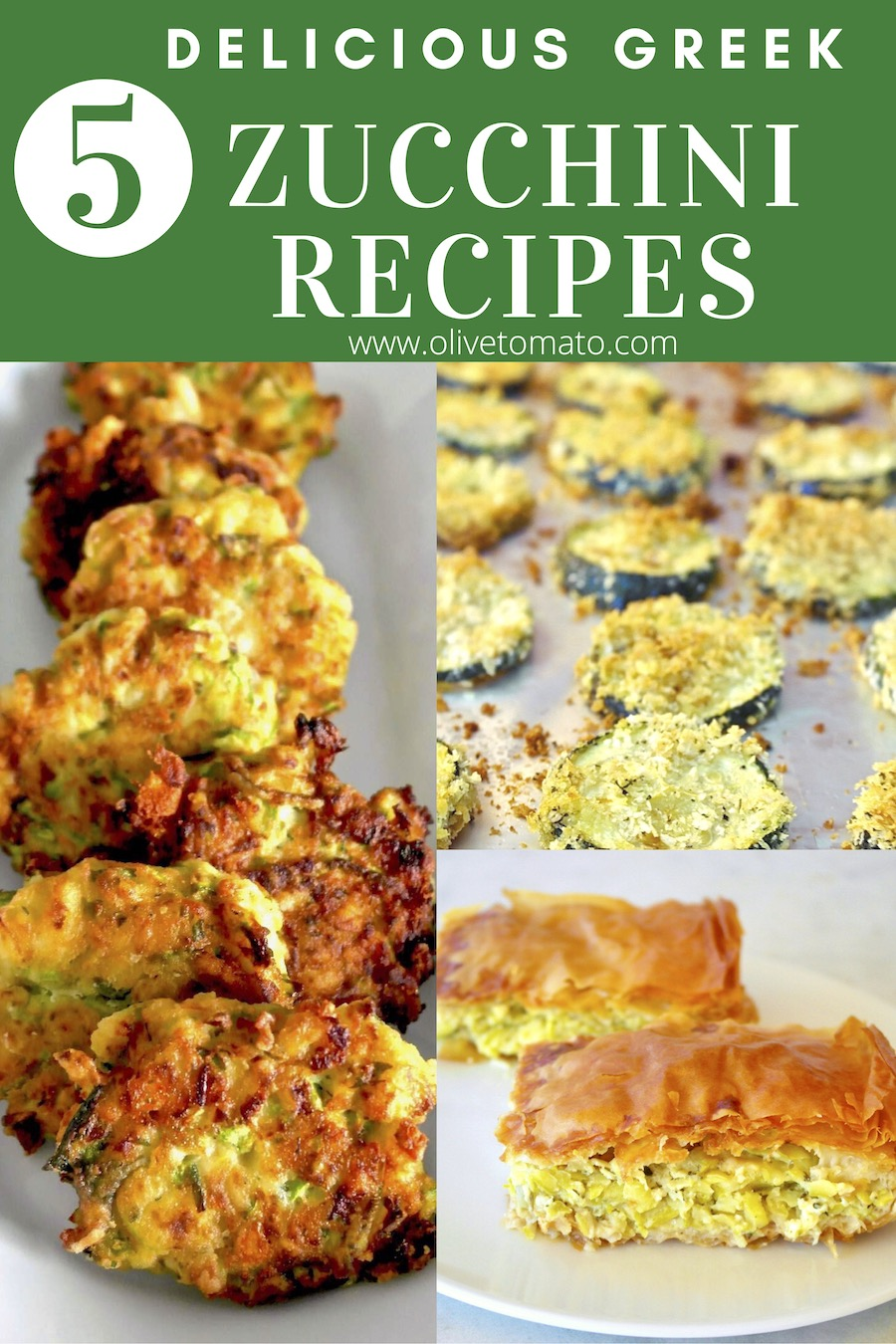 Must try delicious Greek Mediterranean Zucchini recipes. Scrumptious recipes that you will make over and over again. #diet #greek #recipes #easy #zucchini #mediterranean