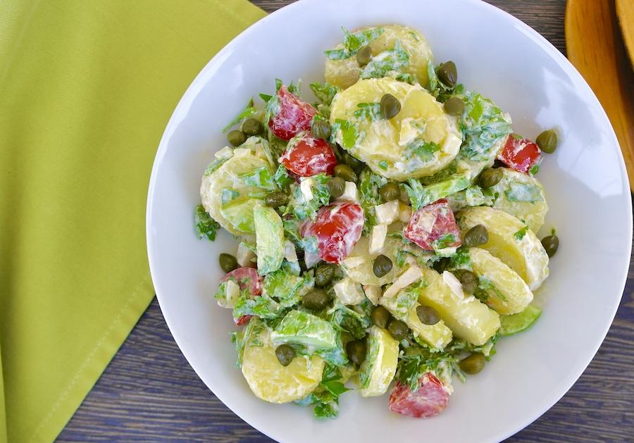 Greek island potato salad