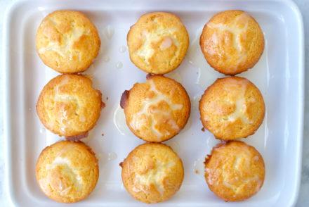 Greek Lemon Olive Oil Cupcakes made with Greek Yogurt