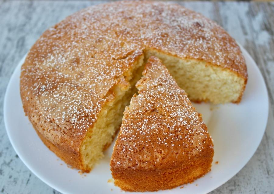 Auténtica tarta de limón y aceite de oliva